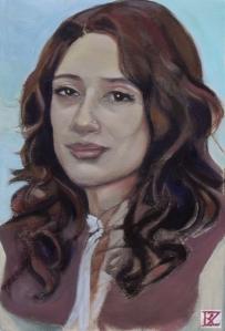 Fatima Bhutto, portrait by Rusty Zimmerman (www.rustyzimmerman.com/ )