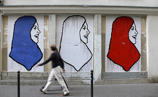 Muslim says mistresses are the French way of life  GOATMILK An  Muslim Headscarves In France